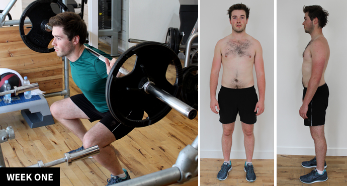 Body By Lomax: The Wallace Transformation – Week One