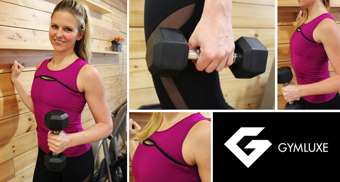 Get the Lomax Look: GymLuxe