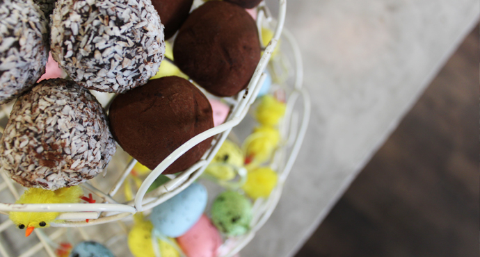 RECIPE: Healthy Easter Truffles