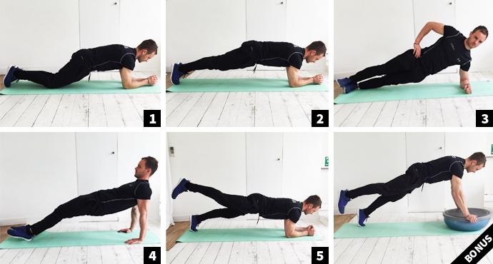 5 Ways to... Plank