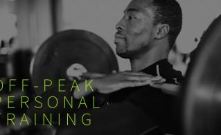 £40 Off-Peak Personal Training